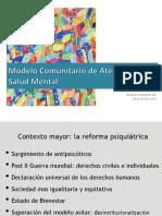 Mod Atención Salud mental comunitaria