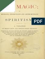 Emma Hardinge Britten - Art Magic