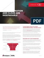 Business Transformation and Cloud Are Inseparable