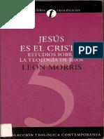 Jesus Es El Cristo Leon Morris PDF-split-merge