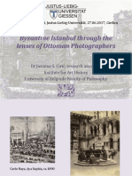 Byzantine Constantinople Through the lens