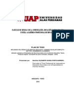 Perfil de Proyecto de Tesis Jornada Completa 2015 Santoto Final