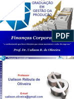 Finanças Corporativas