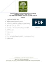 DOA Board Meeting Oct 3, 2018 Agenda Packet