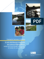 Nota Temática- El Reto Del Manejo Integrado de Cuencas Hidrográficas; Análisis de La Acción Del BancoFINAL