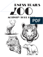 Wilderness Trails Zoo Coloring Activity Book