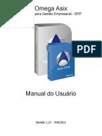 Manual Usuário Omega Asix 2011
