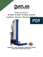 ALI Certified Battery MCL Manual