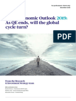 AXA Economic Outlook for 2019