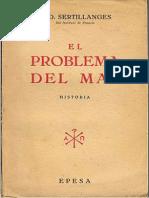 El Problema Del Mal-A. D. Sertillanges