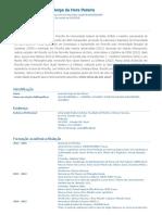 Currículo do Sistema de Currículos Lattes (Leonardo Jorge da Hora Pereira)