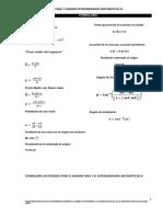 Formulario Examen Final y Extraordinario GEOMETRIA Y TRIGONOMETRIA