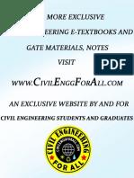 Structural Analysis - AE - AEE - Civil Engineering Handwritten Notes -CivilEnggForAll.com