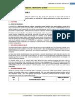 Especificaciones Tecnicas II