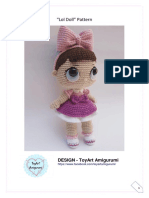 Toy Art Amigurumi Lol Surprise Doll