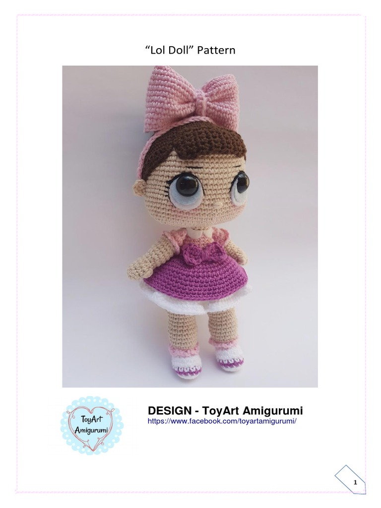 Amigurumi Cracker Girl Bunny Free Pattern- Part-1 | 1024x768