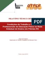 Relatório Final Projeto EM No RS 1
