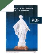 Novena Virgen de La Sonrisa
