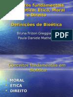 Conceitos Fundamentais Em Bioética