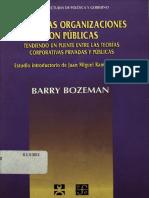 Bozeman, B. (1998). Todas Las Organizaciones Son Públicas