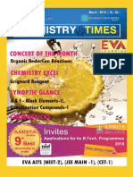 Chemistry Times Magazine India March 2018
