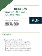 Construction Materials Concrete