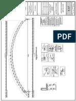 plano ref. estructura de acero