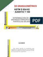 GRAVEDAD ESPECIFICA DE LAS PARTÍCULAS-PESO ESPECIFICO.pptx