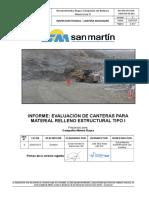 Informe Técnico Cantera (Raura Nueva y Niño Perdido II)