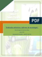 Informe Basico de Tecnologia de Vehiculos Electricos 2016.