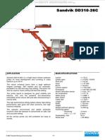 Especificaciones  del jumbo DD 311