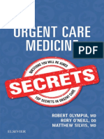 (Secrets Series®) Robert Olympia, Rory O'Neill, Matthew Silvis - Urgent Care Medicine Secrets-Elsevier (2018).pdf