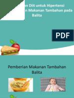 Pemberian Makanan Tambahan Dalam Meningkatkan Status Gizi Anak