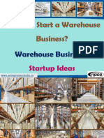 How do I Start a Warehouse Business?