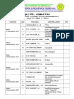 18. Jadwal Mengawa (1 Lb)