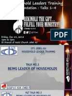 CFC - House Hold leader Training Talk 3