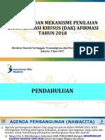 Kebijakan Dan Mekanisme Penilaian DAK Afirmasi 090618