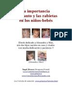Importancia Del Llanto y de Las Rabietas de Los Niños