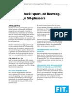 Onderzoek Ouderen FIT.nl bewegen