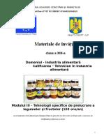 Tehnologii Specifice de Prelucrare a Legumelor Si Fructelor (1)