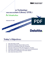 ITIL Delivery