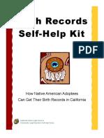 Self Help Birth Records 0409