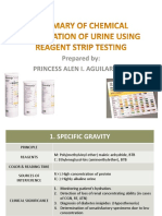 Week 2 Chemical Examination of Urine