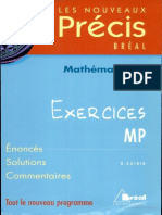 Precis Mathematiques MP