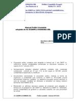 Manual Politici Contabile.doc