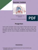 Tugas Bimbingan Bedah-Dea Dr. Sabar Sp.pd Trauma Thorax