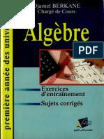 Problemes d'Algebre