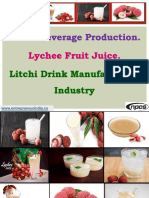 Litchi Beverage Production