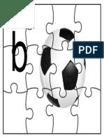 puzzle b untuk bola