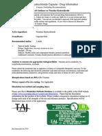 Trientine Hydrochloride Capsule - Drug Information - TAJ PHARMA